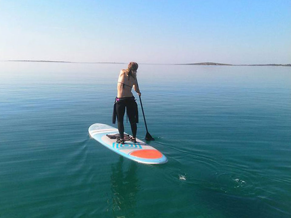 stand up paddling istria